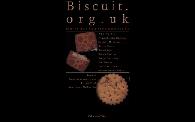 Biscuit Appreciation Society