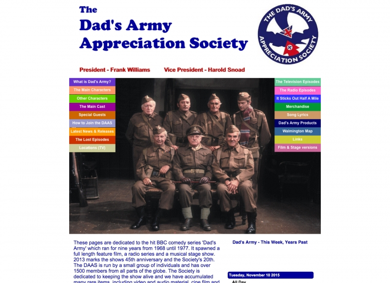 Dad's Army Appreciation Society